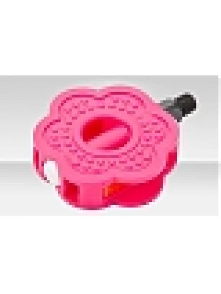 """Педали FP-632 Feimin, ось 1/2"""", пластик, розовые"""