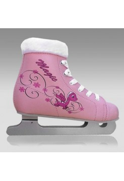 """Коньки детские """"СК"""" Magic pink"""