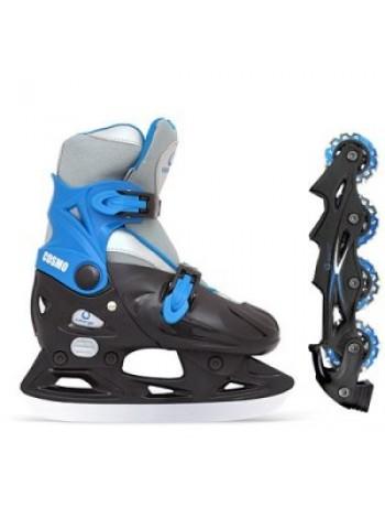 Ледовые коньки ICEBERGER Cosmo (с дополнительной роликовой платформой)