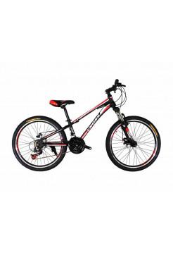"""Велосипед Stailer  Racer 24""""черный-красный-белый"""