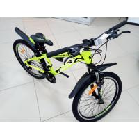 "Велосипед Stailer Atlas 24""желтый-белый-черный"