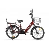 Велогибрид GREEN CITY e-ALFA new (Черный-2151)