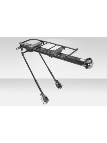 """Багажник 24""""-28"""" BLF-H15 универсальный быстросъёмный алюминиевый чёрный"""