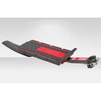 """Багажник 20""""-28"""" BLF-H22 консольный быстросъёмный,  с щитком, алюминий/пластик, чёрно-красный"""