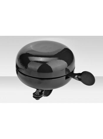 Звонок велосипедный 57P-05 диам.80 мм стальной чёрный