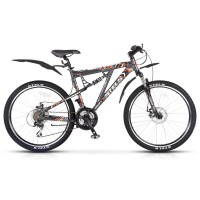 Двухподвесный велосипед Stels Voyager MD 26.15