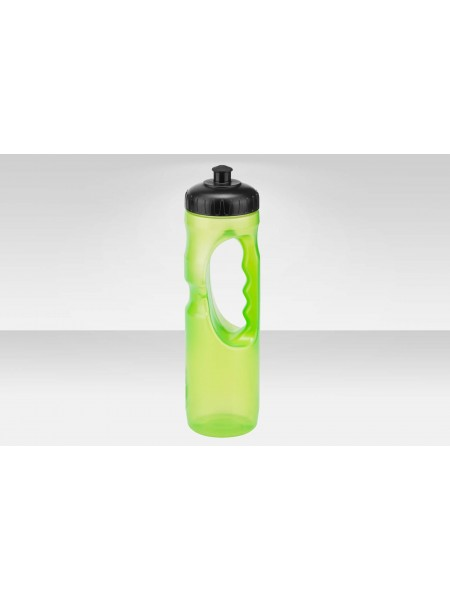 Фляга CB-15124 1000 мл, материал полипропилен, чёрно-зелёная
