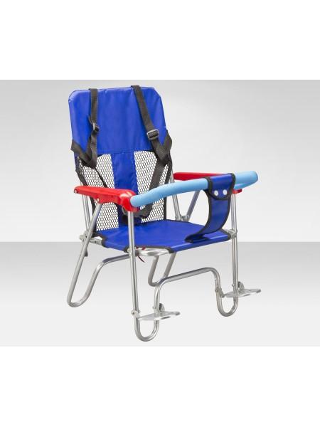 Кресло JL-190 детское велосипедное синее