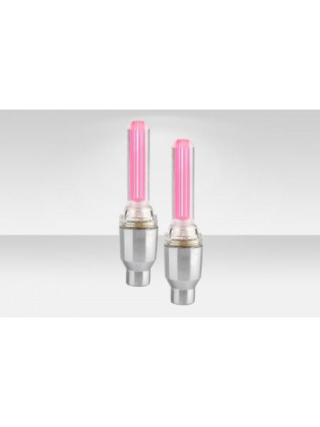 Фонари Stels на ниппель декоративные JY-503E розовые 2 шт.