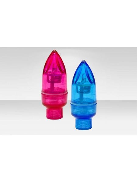 Фонари Stels на ниппель декоративные JY-505 2 шт. красный и синий