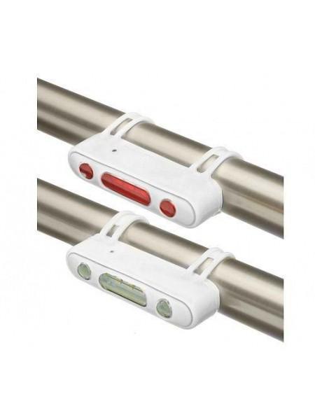 Фонари габаритные Stels JY-7013, передний с 5 белыми светодиодами задний с 5 красными светодиодами, белые