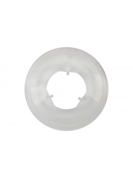 """Спицезащитный диск TC-H01 5""""1/2,  диам.155мм, 3 защёлки, пластик прозрачный"""