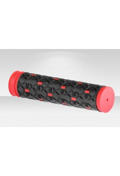 Грипсы VLG-232D2 125 мм чёрно-красные
