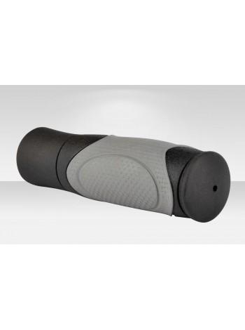Грипсы VLG-428D2 125 мм чёрно-серые