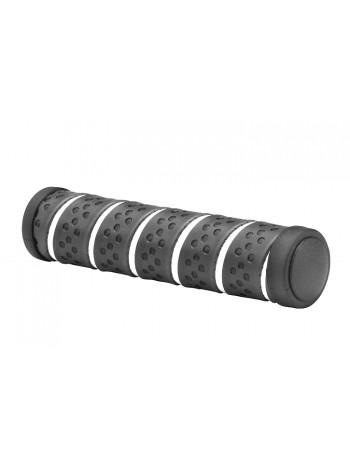 Грипсы VLG-893A 125 мм черно- белые