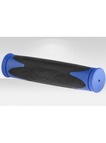 Грипсы XH-G37B 110 мм чёрно-синяя