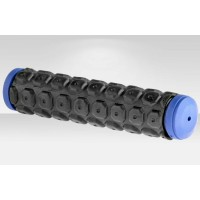 Грипсы XH-G38 125 мм чёрно-синие